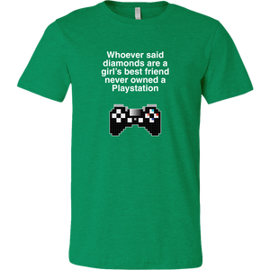 Playstation is a Girl's Best Friend Men's T-Shirt