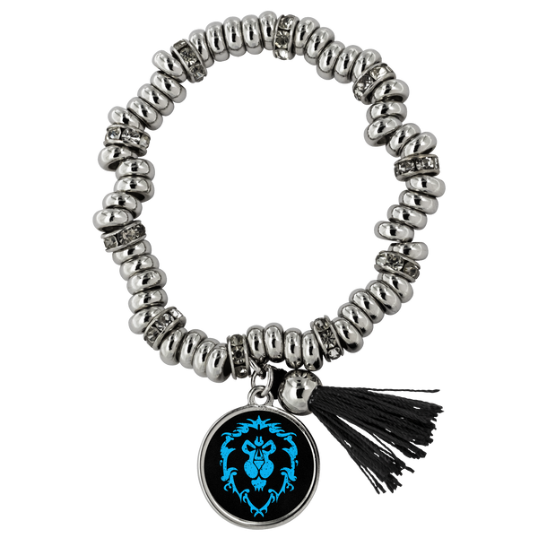 "World of Warcraft ""For the Alliance"" Piper Bracelet"