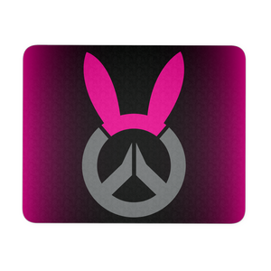 Overwatch D.Va Bunny Logo Mouse Pad