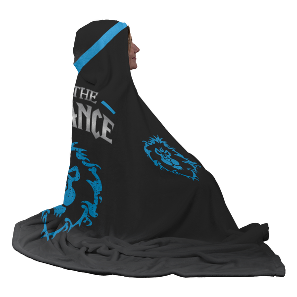 "World of Warcraft ""For The Alliance"" Hooded Blanket"