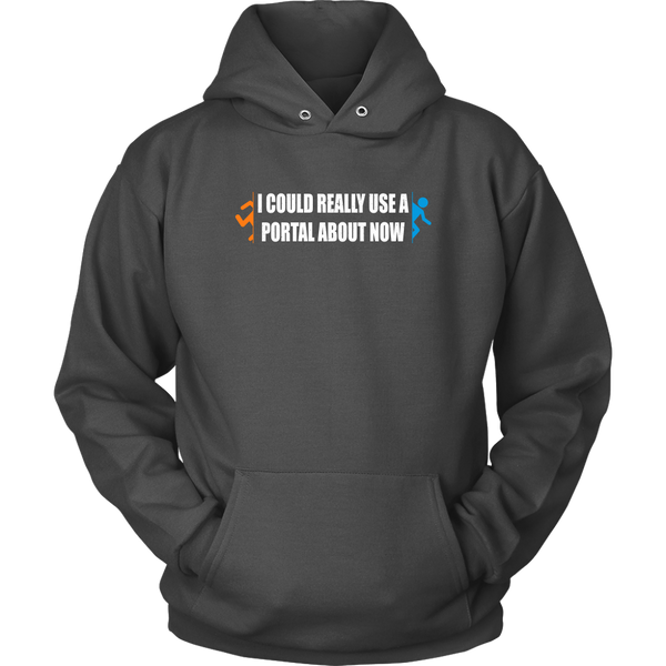 I Could Use a Portal Right Now Hoodie