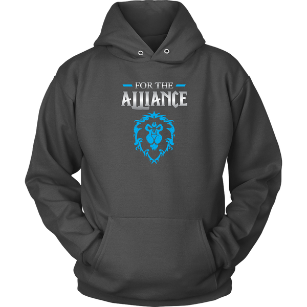 "World of Warcraft ""For the Alliance"" Hoodie"