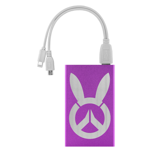 Overwatch D.Va Bunny Logo 4000mAh Power Bank