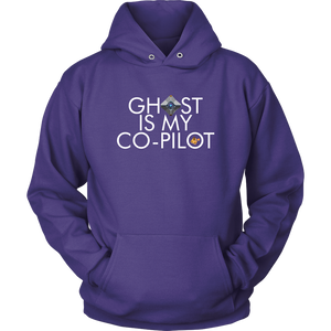 Ghost is my Co-Pilot (Small Ghost) Hoodie