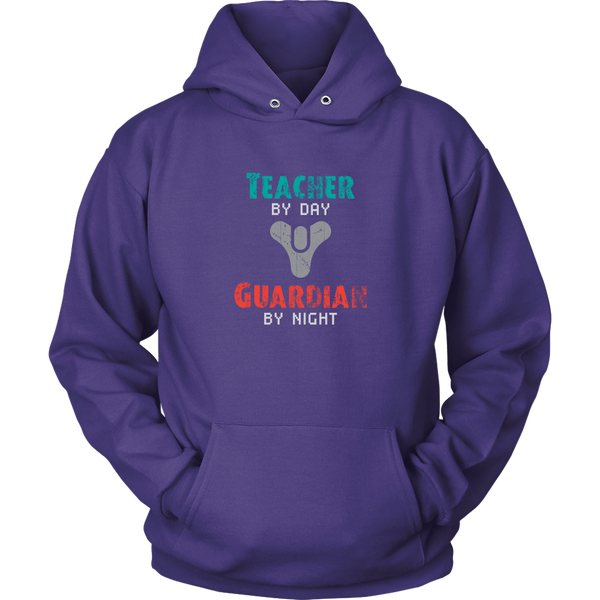 Destiny Teacher by Day, Guardian by Night Hoodie
