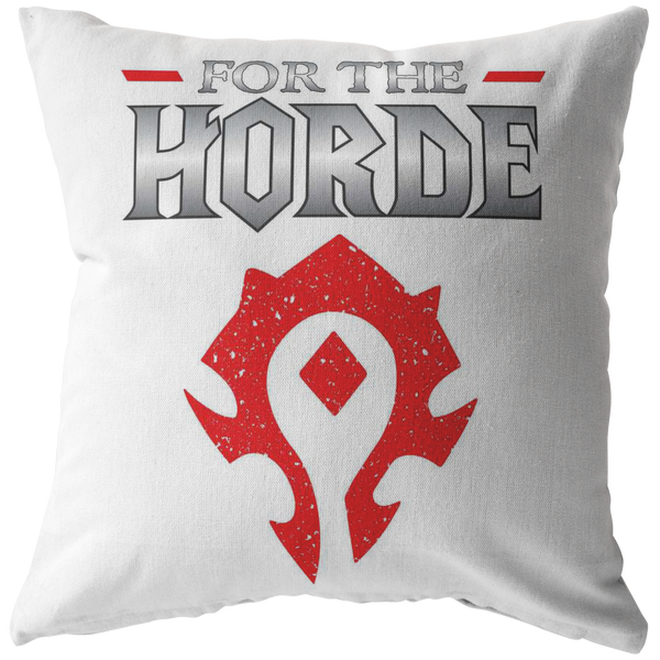 "World of Warcraft ""For the Horde"" Pillow"