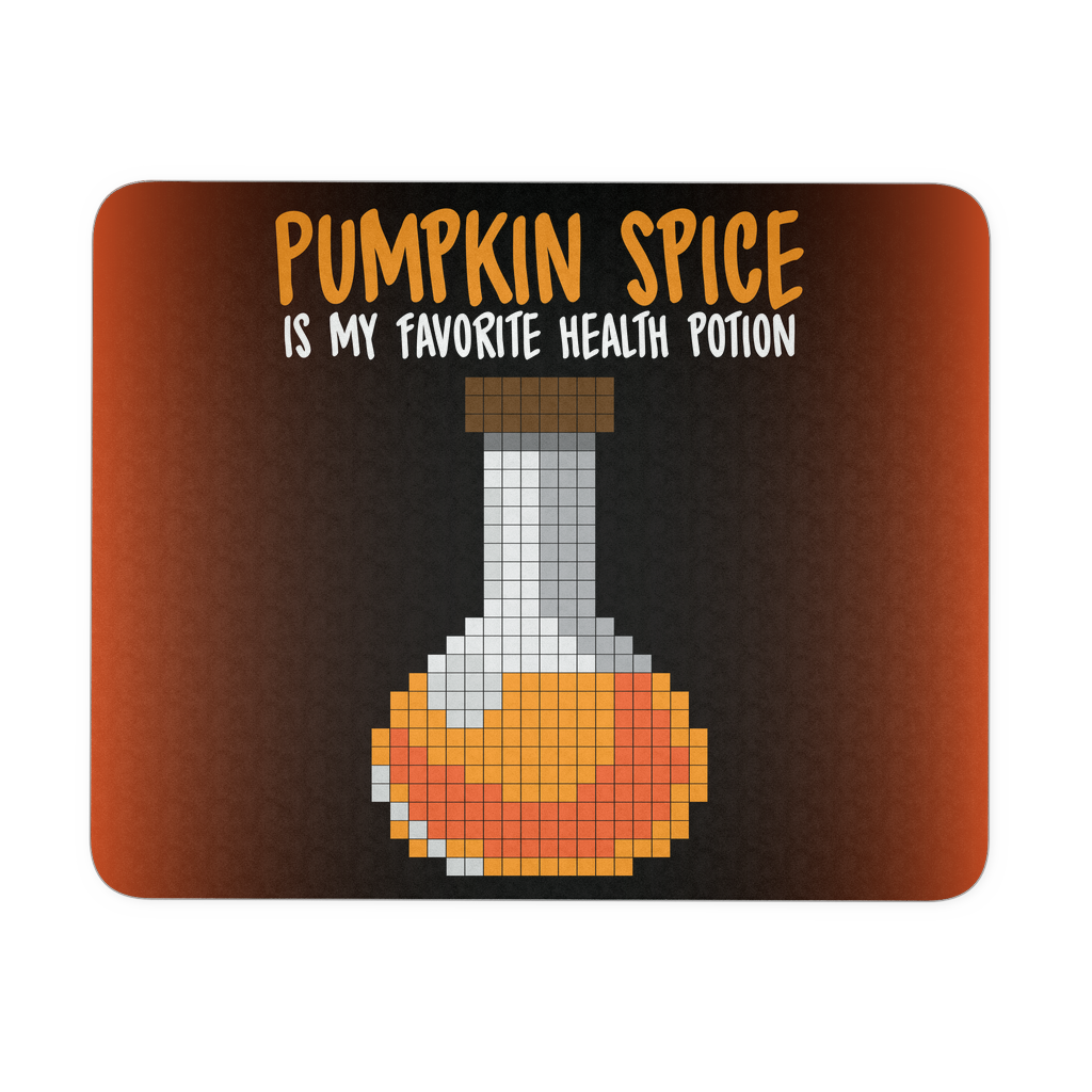 Pumpkin Spice Flavored Health Potion Mouse Pad