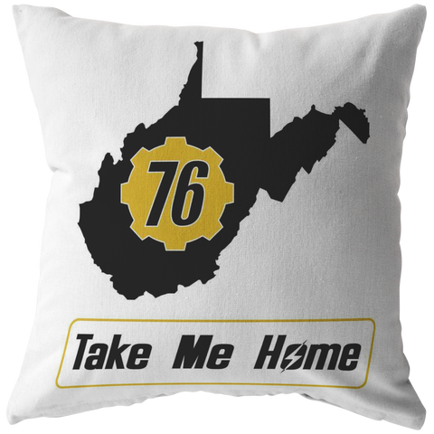 Fallout 76 Take Me Home Pillow