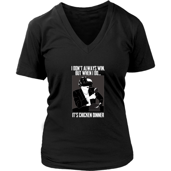 The Most Interesting PUBG Player in the World Women's V-Neck T-Shirt