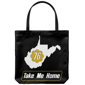 Fallout 76 Take Me Home Tote Bag