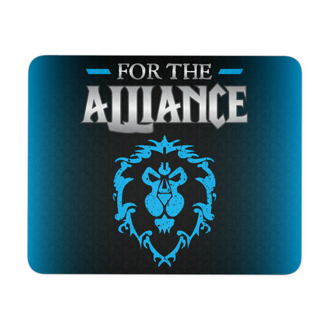 "World of Warcraft ""For the Alliance"" Mouse Pad"