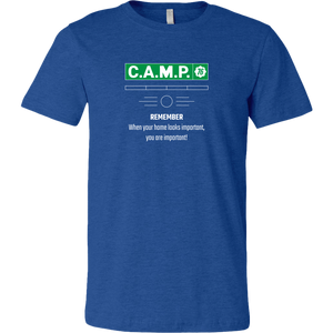 Fallout 76 C.A.M.P. Proud Home Creator Men's T-Shirt