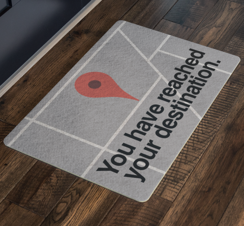 Map Pin Doormat