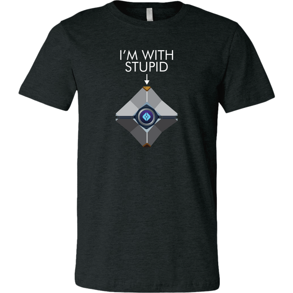 Destiny Ghost I'm With Stupid Men's T-Shirt