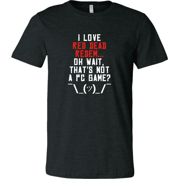 Red Dead Redemption PC Gamer Woes Men's T-Shirt