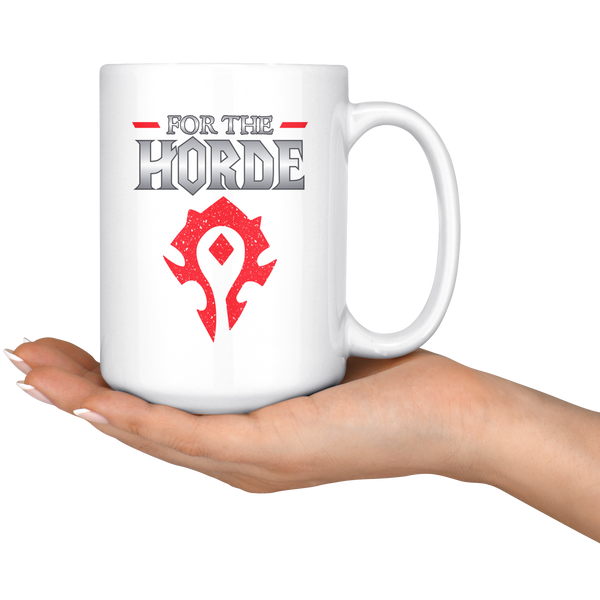 "World of Warcraft ""For the Horde"" Mug"