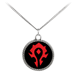 "World of Warcraft ""For the Horde"" Deco Coin Necklace"
