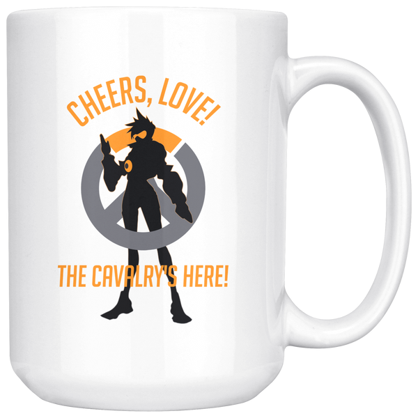 Overwatch Tracer Cheers Love Mug