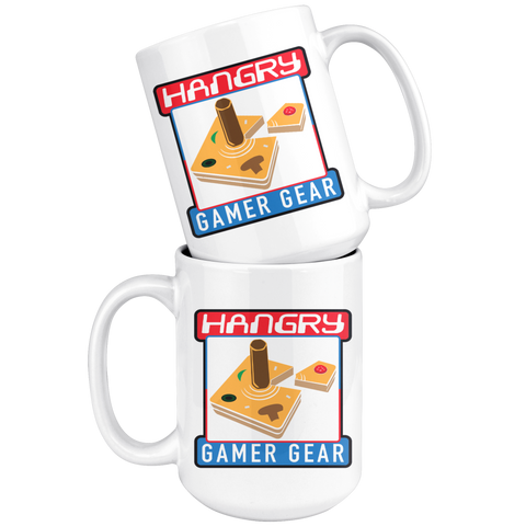 Hangry Gamer Gear 15oz Gaming Fuel Delivery Device Mug