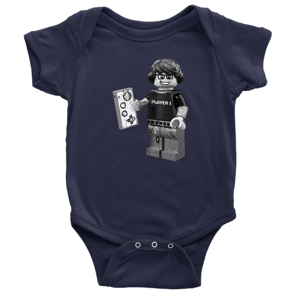 Lego Geek Player 1 Baby One Piece