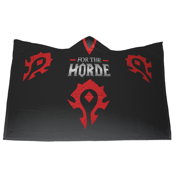 "World of Warcraft ""For The Horde"" Hooded Blanket"