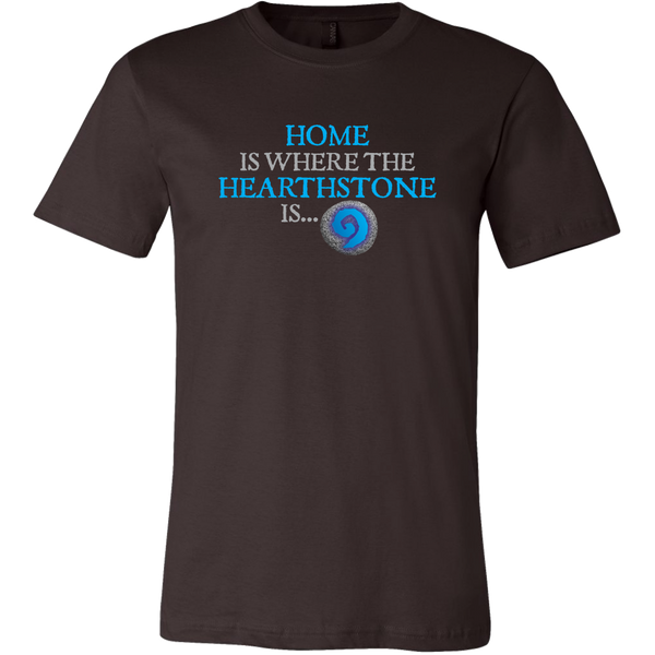 Home is Where the Hearthstone is Men's T-Shirt