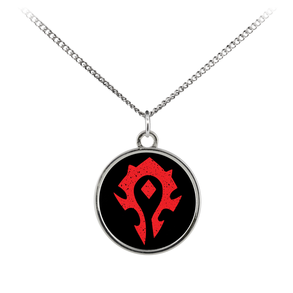 "World of Warcraft ""For the Horde"" Standard Coin Necklace"