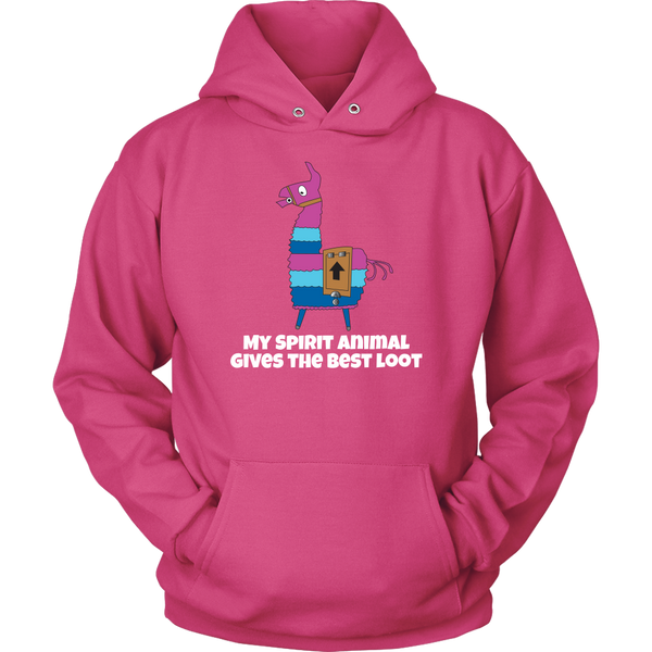 Fortnite Loot Llama Spirit Animal Hoodie