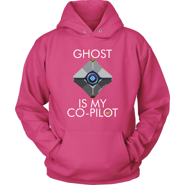 Ghost is my Co-Pilot (Centered Ghost) Hoodie