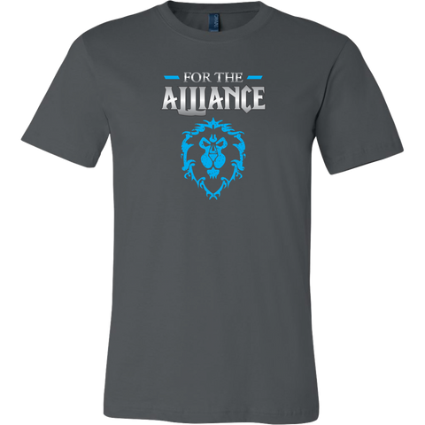 "World of Warcraft ""For the Alliance"" Men's T-Shirt"