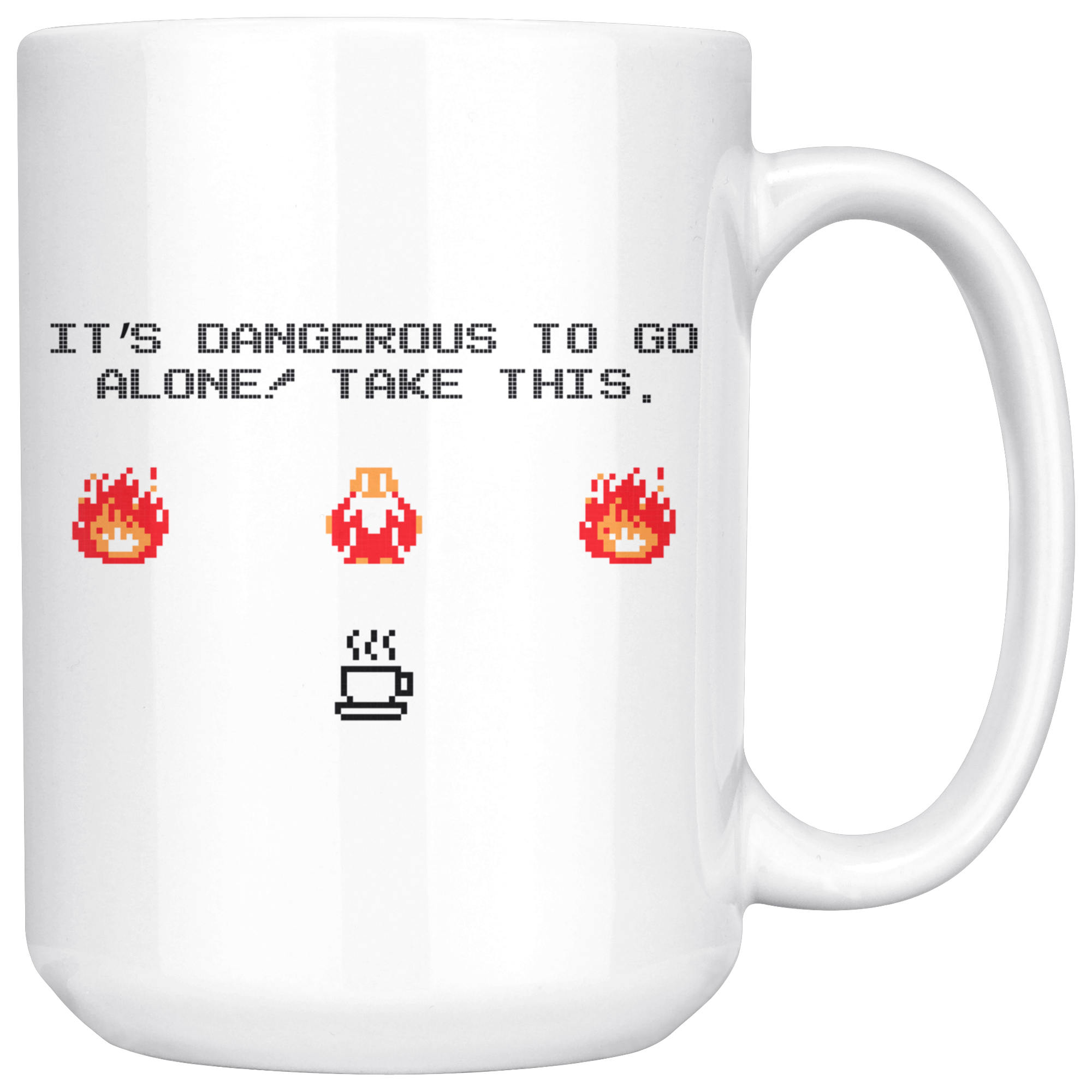 It's Dangerous to Go Alone Classic Gaming Mug