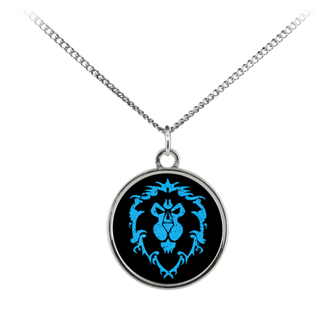 "World of Warcraft ""For the Alliance"" Standard Coin Necklace"