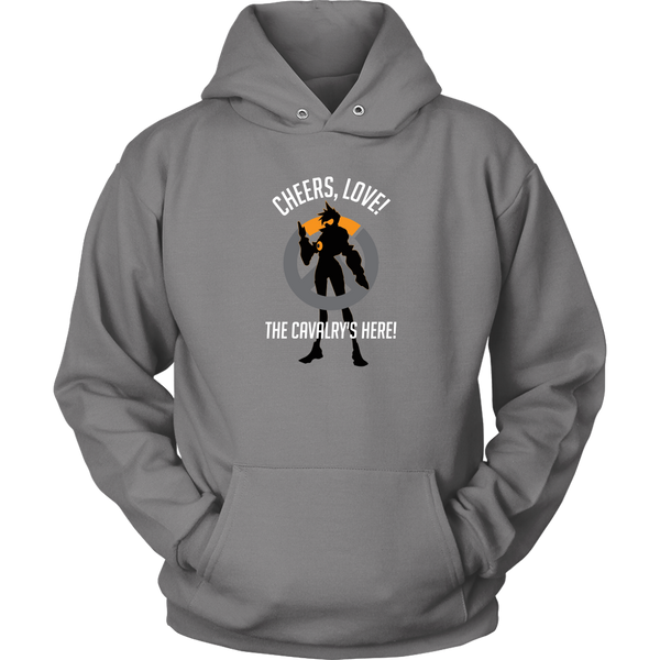 Overwatch Tracer Cheers Love Hoodie