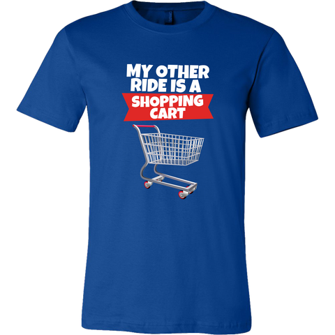 Fortnite Shopping Cart Ride Men's T-Shirt