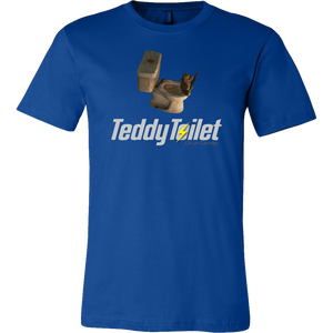 Fallout 4 Toilet Teddy Bear Men's T-Shirt