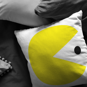 Classic Gaming Pacman Pillow