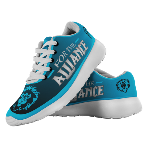 "World of Warcraft ""For the Alliance"" Running Shoes"
