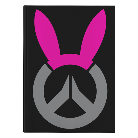 Overwatch D.Va Bunny Logo Hardcover Journal