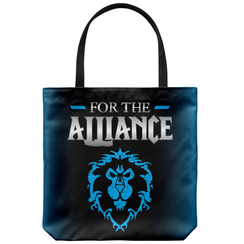 "World of Warcraft ""For the Alliance"" Tote Bag"