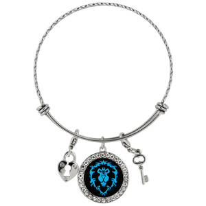 "World of Warcraft ""For the Alliance"" Chloe Bracelet"