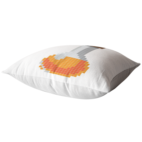 Pumpkin Spice Flavored Health Potion Pillow