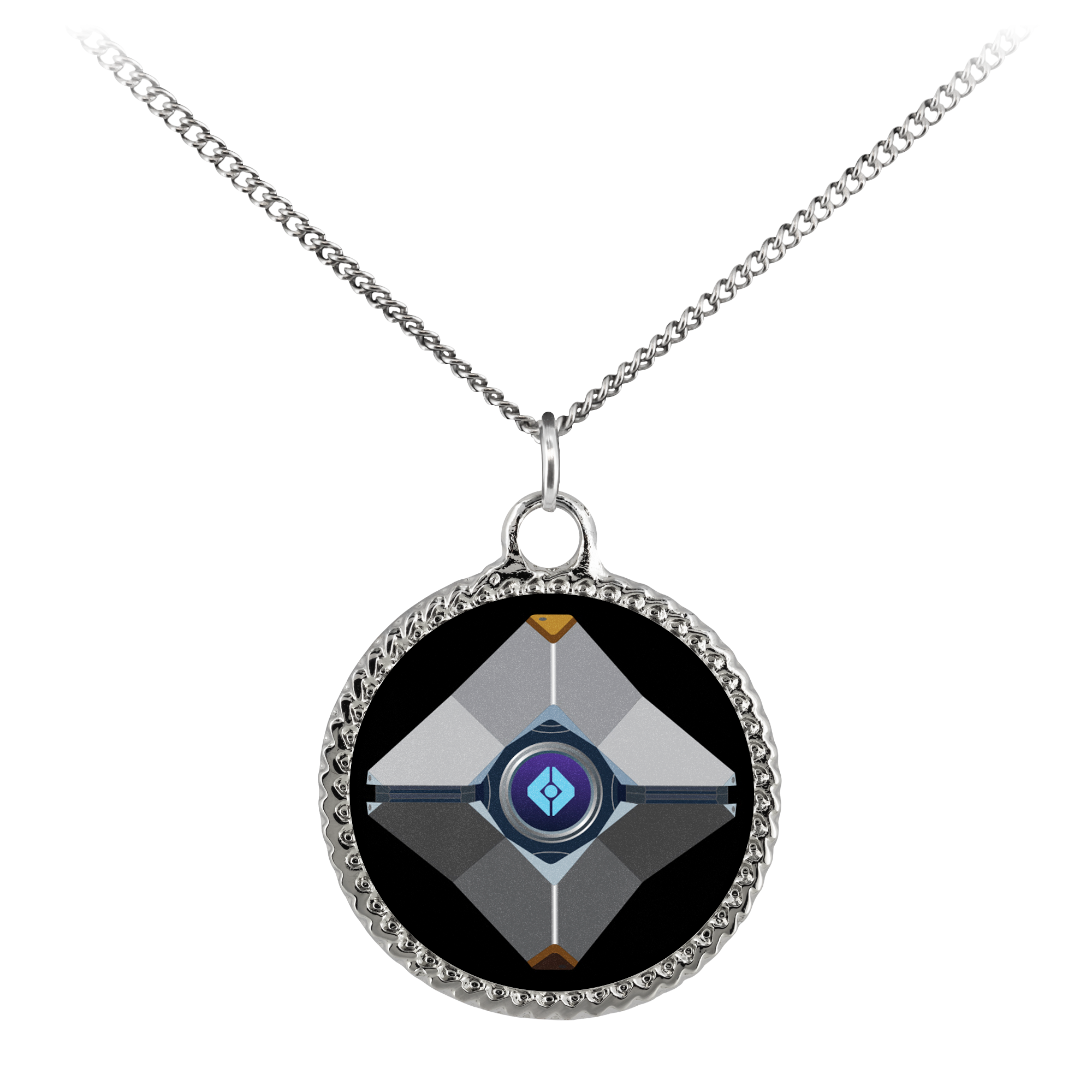 Destiny Ghost Deco Coin Necklace