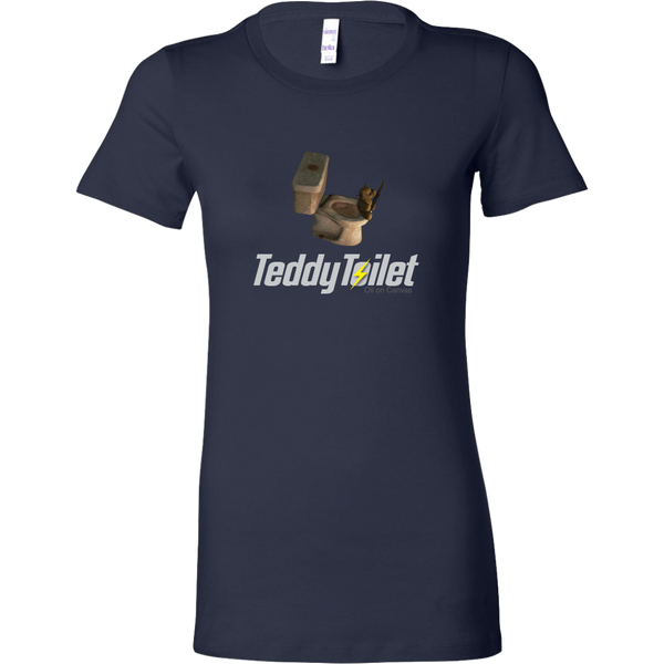 Fallout 4 Toilet Teddy Bear Women's T-Shirt