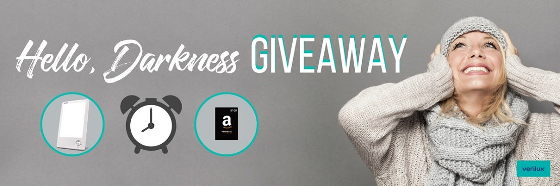 Hello Darkness HappyLight Touch Giveaway Banner