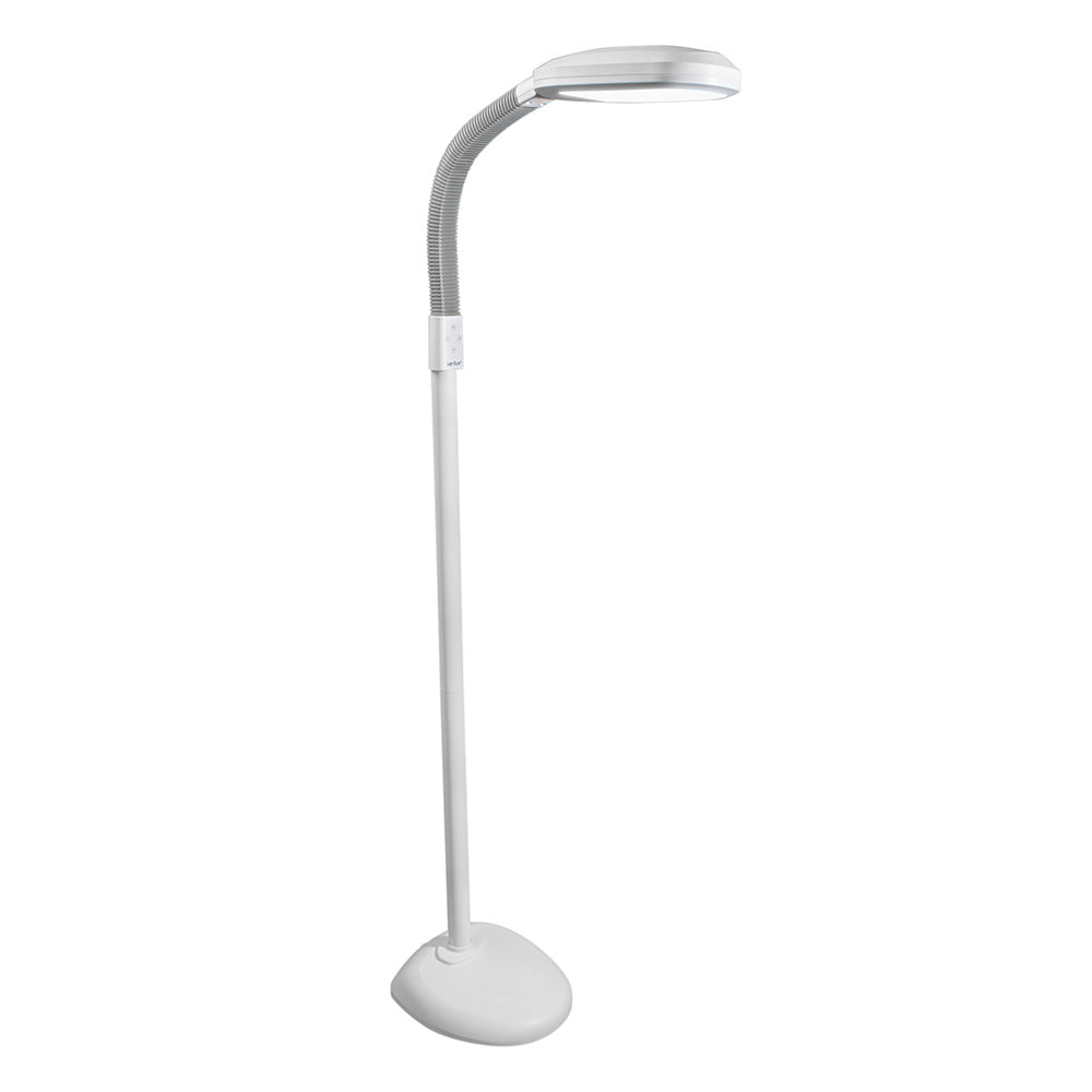 Verilux SmartLight LED white floor lamp