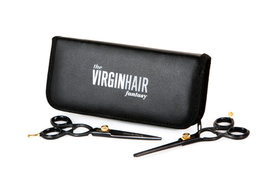 Hair Cutting Scissors and Thinning Shears Set - The Virgin Hair Fantasy