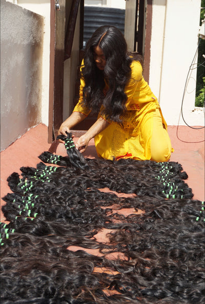 INDIAN VENDOR FOR BUNDLES - The Virgin Hair Fantasy
