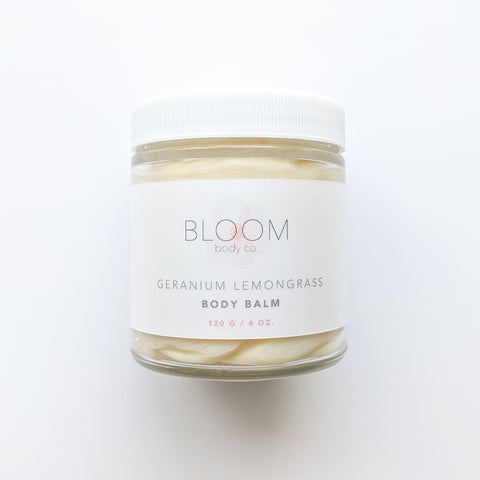 Geranium Lemongrass Body Balm