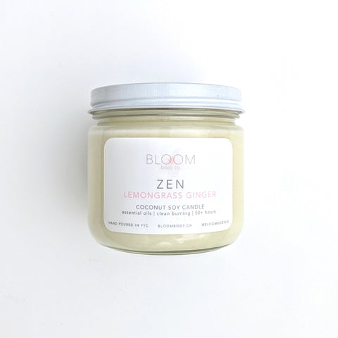 ZEN Candle - Lemongrass Ginger