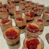 Baked Cherry Cheesecakes In A Jar | Cheesecakery Bakery